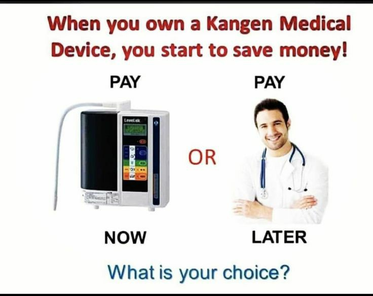 When you own a Kangen Water device, you will start to save money.